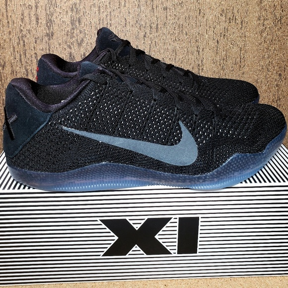 huge discount 4c29b 10135 Nike KOBE XI ELITE 11 Low  Black Space  DS Men s